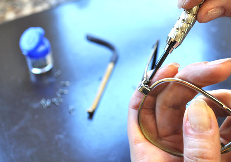 Glasses Frame Bent How To Fix : image titled repair eyeglasses step 12. ted baker eyeglass ...